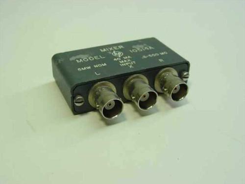 HP 10514A  Mixer 5 MW NOM, 40MA Max Input, 0.2-500MC w/ BNC