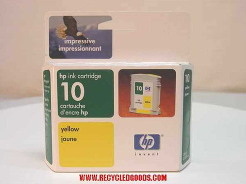 HP HP ink cartridge 10 yellow (Exp Date 2003) (C4842A)