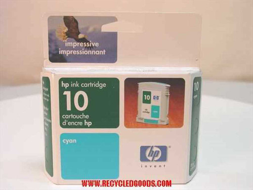 HP HP ink cartridge 10 cyan (C4841A)