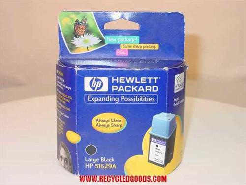 HP Inkjet Print Cartridge Large Black (51629A)