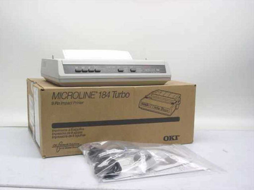 Okidata ML 184Turbo  9-pin Dot Matrix Printer GE5256D