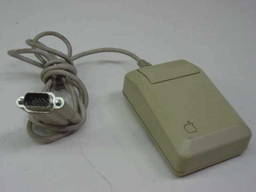 Apple A2M4015  Mouse Serial Vintage Apple IIc One Button Mouse