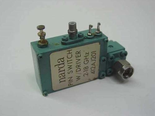 Narda 412AJ201  Pin Switch w/Driver