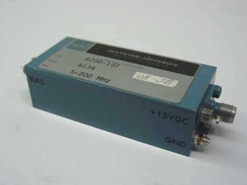 Watkins Johnson 6200-137  Cascade Amplifier