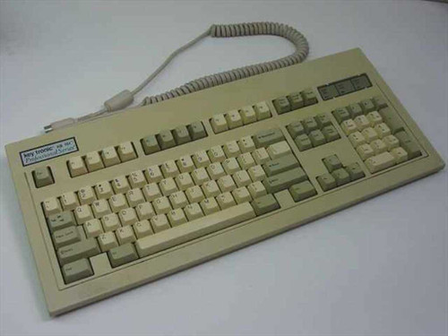 Keytronic KB101  Professional series AT Keyboard - KB101 - Yellowe