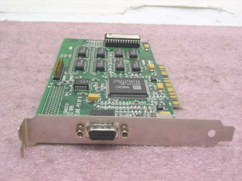 Paradise Pipeline -PCI by 8  Video Card 61-603787-001