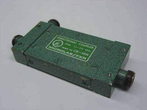 Microlab/FXR CB-48N  Directional Coupler 20db 1.0-2.0 GHz