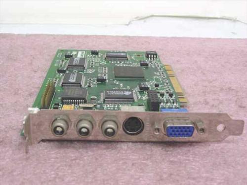 Diamond 23230000-404  PCI Video Card w/RCA In/Outs