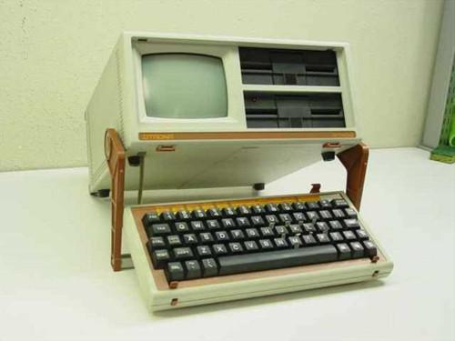 Otrona Attache  Vintage Collectible Portable Computer - Amber