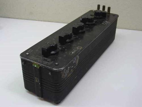 General Radio 1432M  Decade Resistor