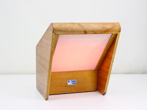 The Van Keuren Co C2 2273  Wood Case Lamp