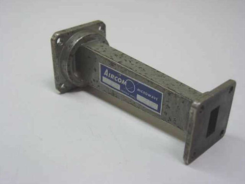 """Aircom 195-X-KU  Waveguide WR90 to WR62 Tapered Sector 12.4GHz 4"""" L"""