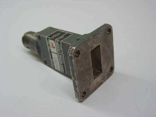 Diamond Antenna & Microwave 5-850  N-F Connector to WR90 Transition/Adapter