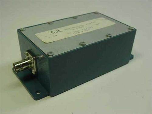 Custom 6.8 MHz  Bessel Filter 5 pole