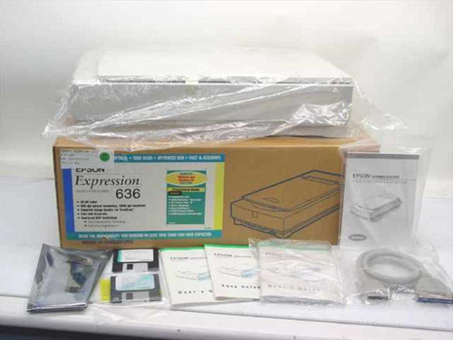 Epson G590A  Expression 636 Color Scanner