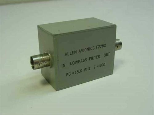 ALLEN AVIONICS F2762  Low Pass Filter