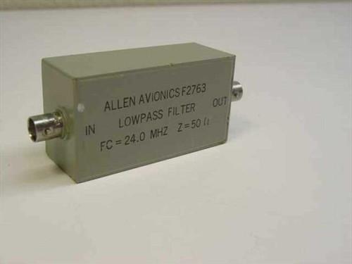 ALLEN AVIONICS F2763  Low Pass Filter