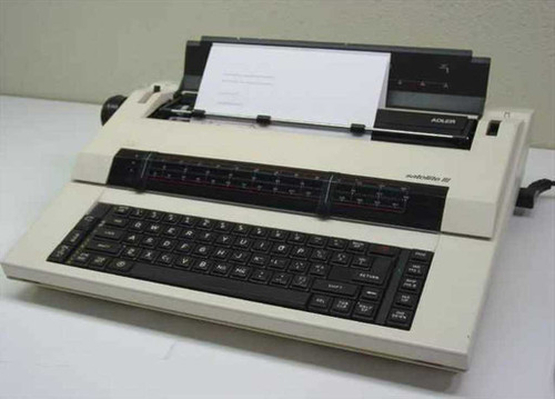 Adler Satellite III  Electric Typewriter - Broken lever on top right si