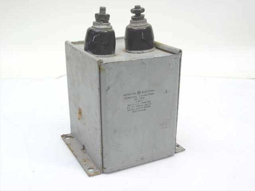 GE 23F44  Oil Filled Pyranol Capacitor 4.26 uF 3KV