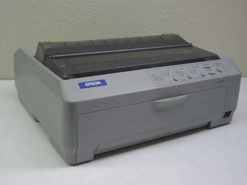Epson LQ-590  Dot Matrix Printer - Missing Plastic Cover P363A