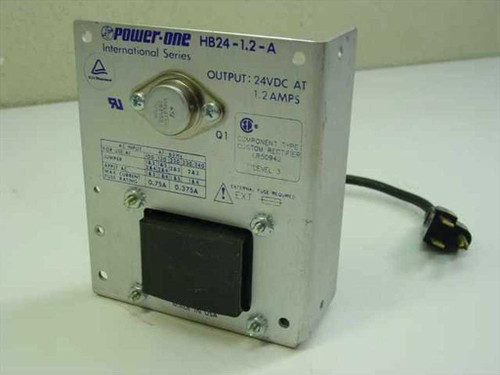 Power One HB24-1.2-A  24 Volt 1.2 Amps Power Supply
