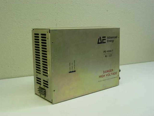 Advanced Energy PE-1000-T  1KW AC Plasma Source 13.56 MHz RF - Untested