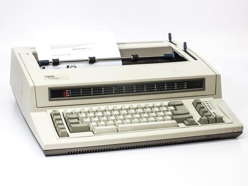 IBM 6781-025 Personal Wheelwriter 2 Electronic Typewriter