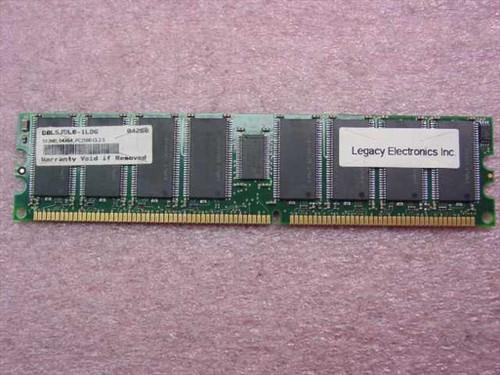 Legacy Electronics C8L5JDL0-1LDG  512MB, 64x64, DDR266 PC2100 CL2.5 RAM