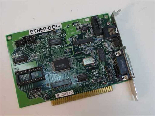 Myson 8 Bit Network Card RJ45 Ether-8TP& 9211AE
