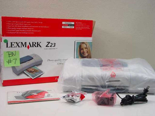 Lexmark 4105-001  Z23 Color Jetprinter Photo Quality