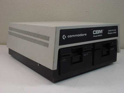 Commodore CBM 8050M  8000 PET Series Dual Drive Floppy Disk - Rare