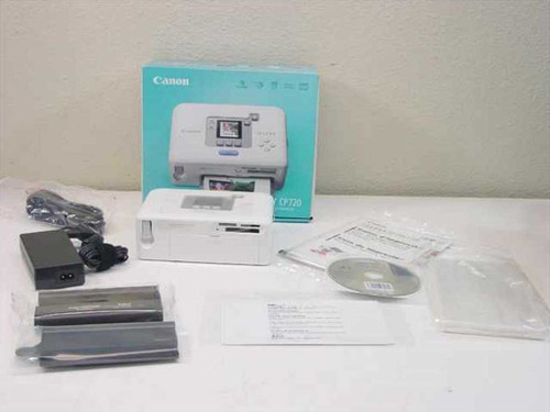 Canon Selphy CP720  Compact Portable Photo Printer - 1291B001(AA)