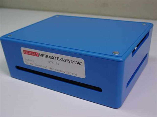 Keithley STA-16  DAS-16 Screw Terminal Accessory Board