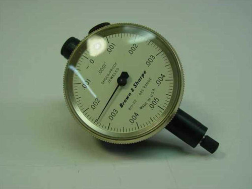 Brown and Sharpe 8111-112  Dial Indicator