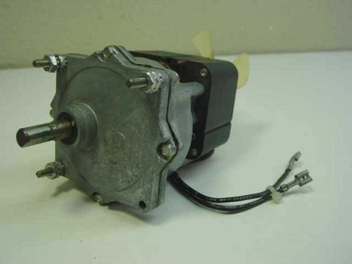 Unknown N/A  Shaded Pole Motor w/Gear and Cooling Fan