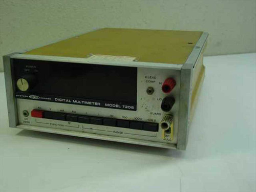 Systron Donner 7205  Digital Multimeter