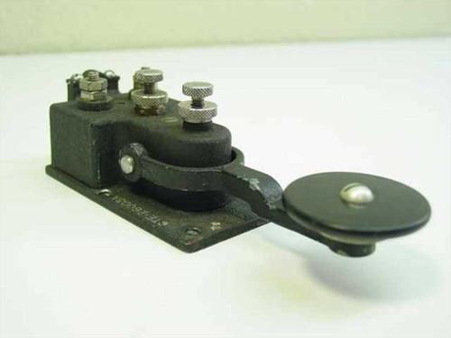 Navy CTE-26003A  Telegraph Key - Morse Code - Vintage