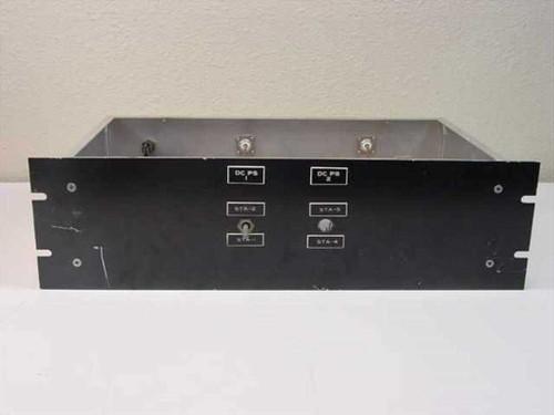 "Custom 19"" Rackmount  Enclosure w/ 2 Jennings com RJ2C-26S Vacuum Relays"