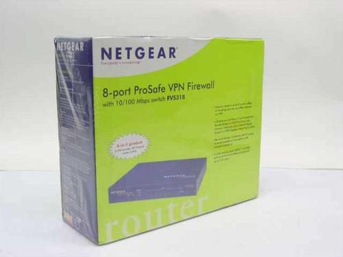 Netgear FVS318  8-port ProSafe VPN Firewall - New in Box