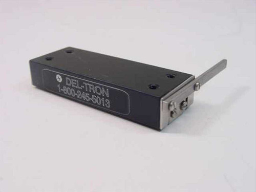 Del-Tron 20 x 54 mm  Linear Stage, 25 mm stroke, Height 10.4 mm