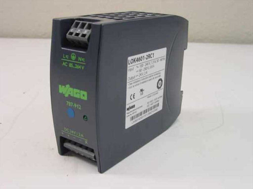 Wago 787-912  LOK 4601-2RC1 24 Vdc 2 A Power Supply