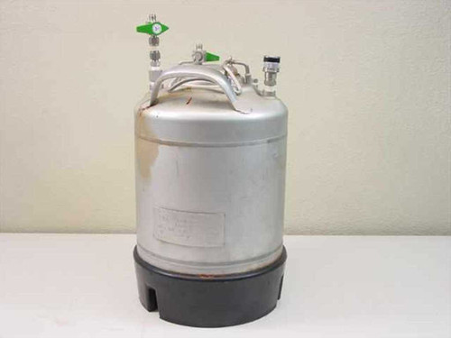 UM Alloy Products Corporation 9 L  Stainless Pressurized Tank