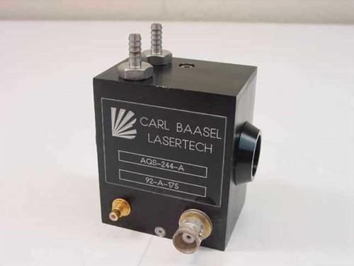 Carl Baasel Lasertech AQS-244-A  Q Switch 24 MHz 4mm Aperture