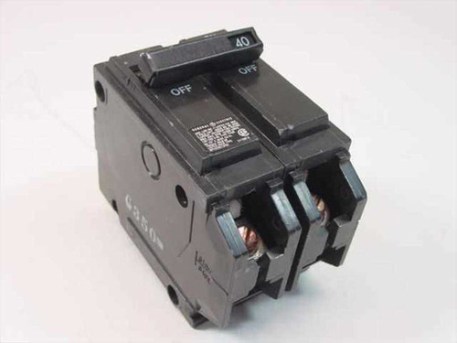GE NE-2266  Type THQB 2 Pole 40 Amp Circuit Breaker