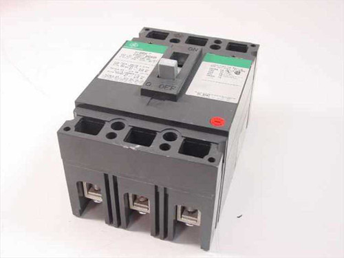 GE THED136100  100 Amp 3 Pole Hi Break Circuit Breaker 600 VAC, 2