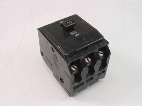 Square D KR-90  Type 00 3 Pole 50 Amp Circuit Breaker