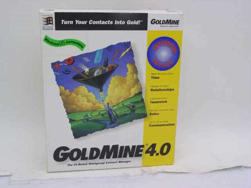 GoldMine 60005-3040  Goldmine 4.0 Corporate Enterprise Edition - 5-User