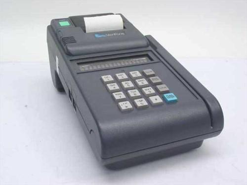 Verifone Tranz 460  Credit Card Terminal w/Built-In Printer NO AC Adap