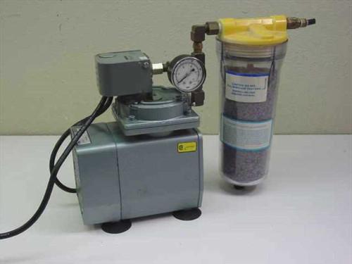 Gast DOA-P126-AA  Vacuum Pump with Manual Regeneration Air Dryer - D