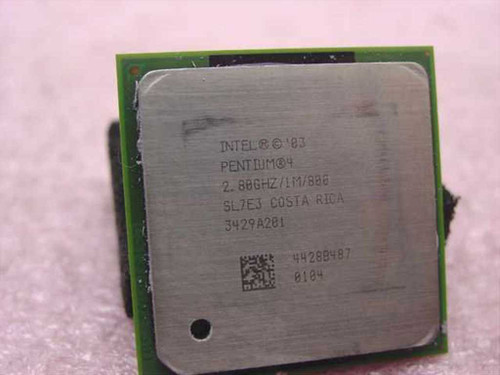 Intel SL7E3  P4 2.80 GHz Pentium 4 CPU Processor Socket 478 CPU